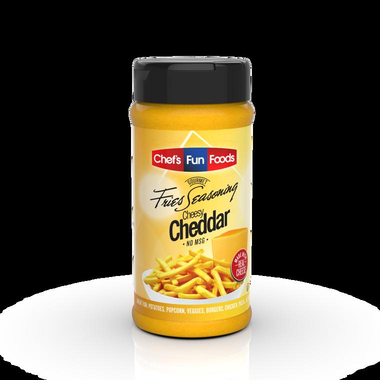 Cheesy Cheddar Gourmet Fries Seasoning