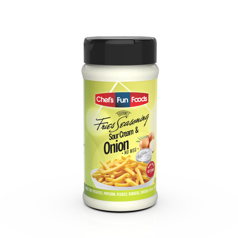 Sour Cream & Onion Gourmet Fries Seasoning