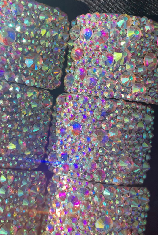 Crushed Crystal Buckles