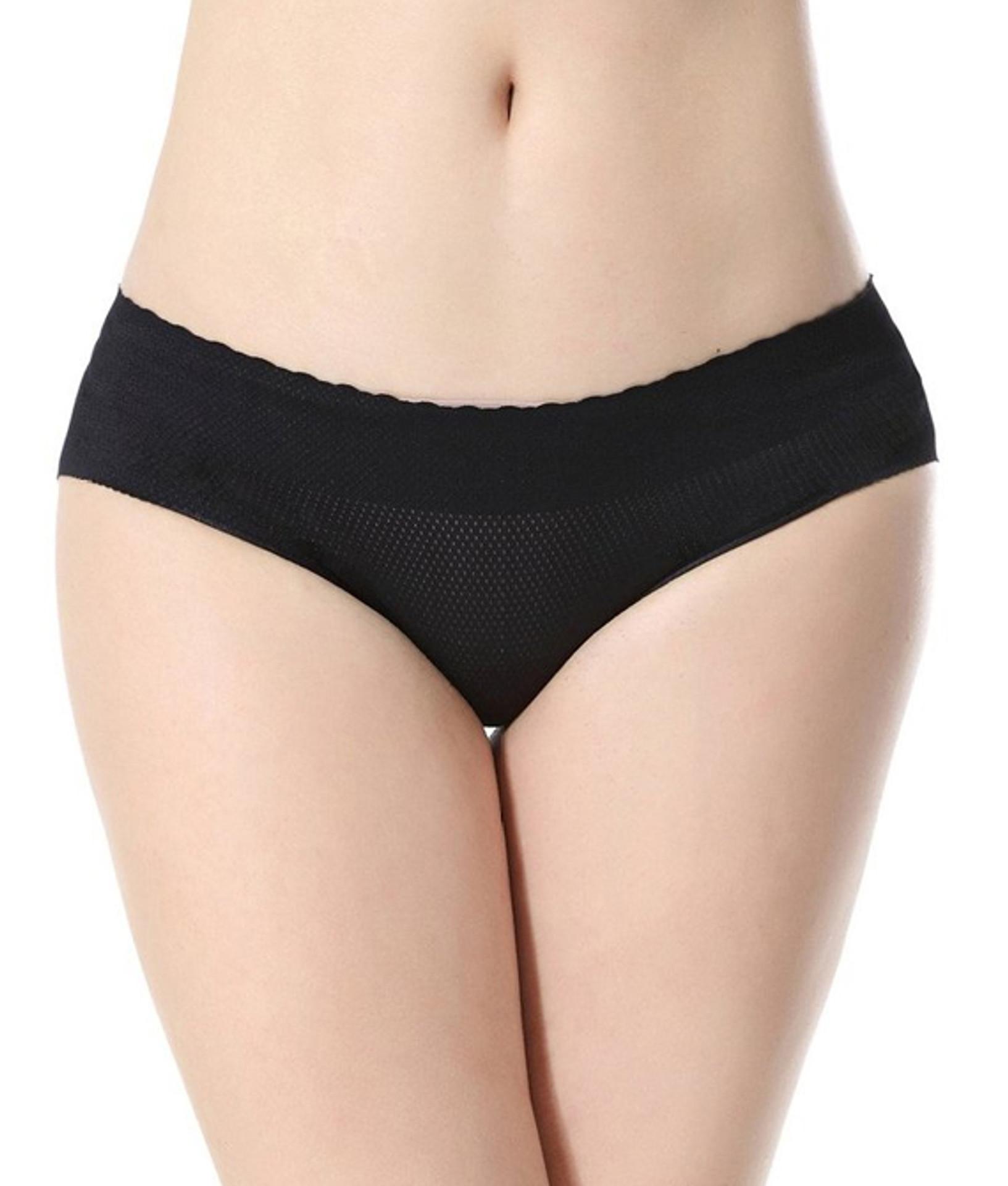 Sexy Flexy™️ Insta Booty Laser Cut Seamless Mid Waist Buttocks Enhancer Panty