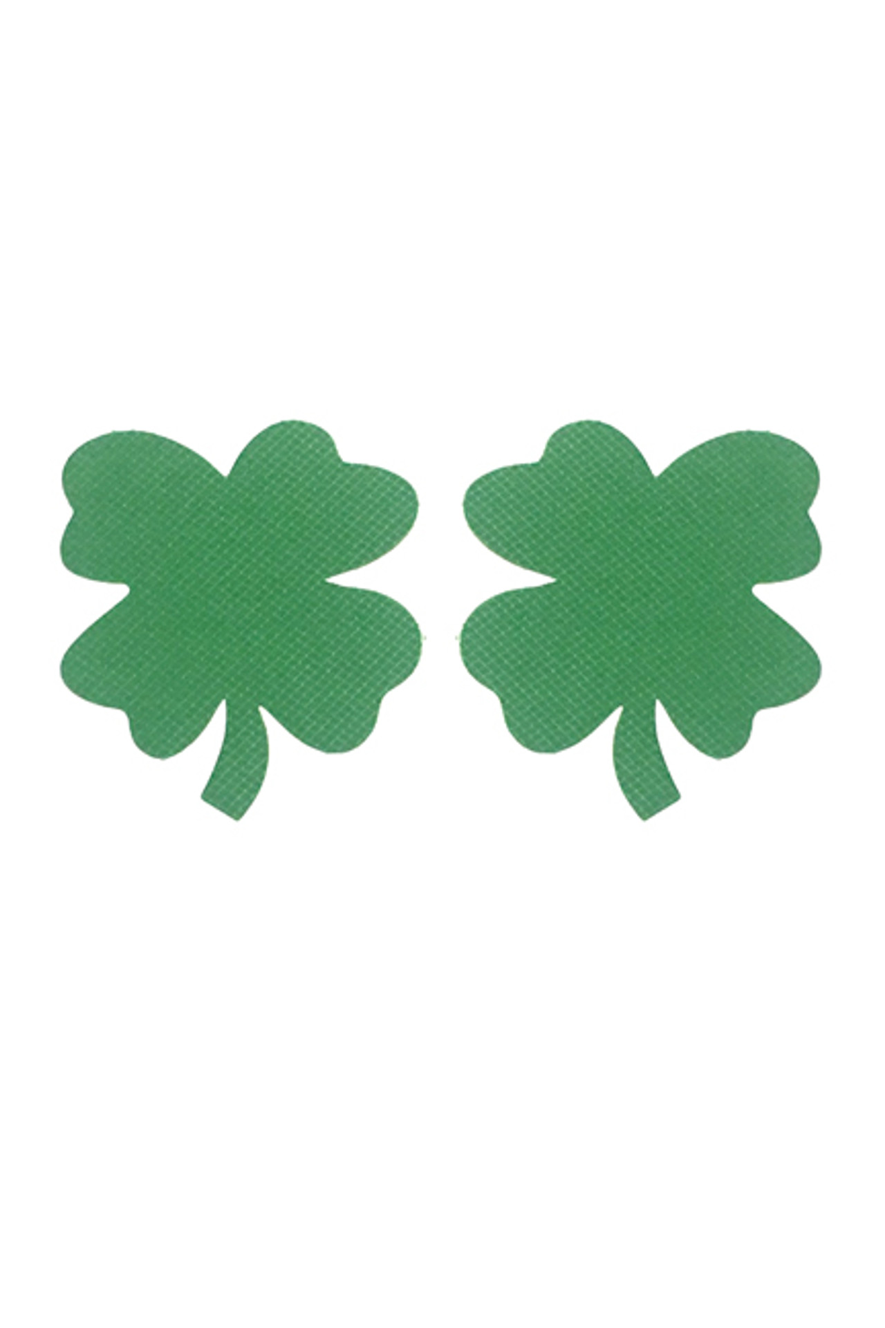 Lucky 4 Leaf Clover St. Patrick´s Day Disposable Nipple Pasties 2 pairs
