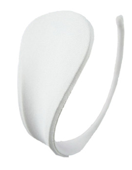 White Plain C string Invisible Thong Panty