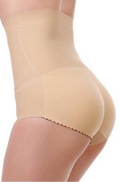 Sexy Flexy™️ Seamless High Waist Laser Cut Padded Buttocks Enhancer Panty