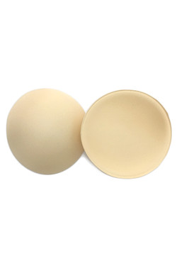 Round Seamless Foam Pads for Bikinis and Tops