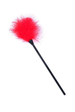 Red Marabou Feather Tickler