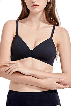 Seamless Wire free T Shirt Full Coverage Comfy Bra