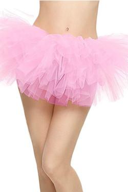 Baby Pink Tutu Petticoat Short Skirt