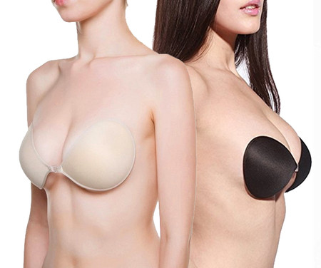 Featherlight Cleavage Cotton Adhesive Invisible Bra