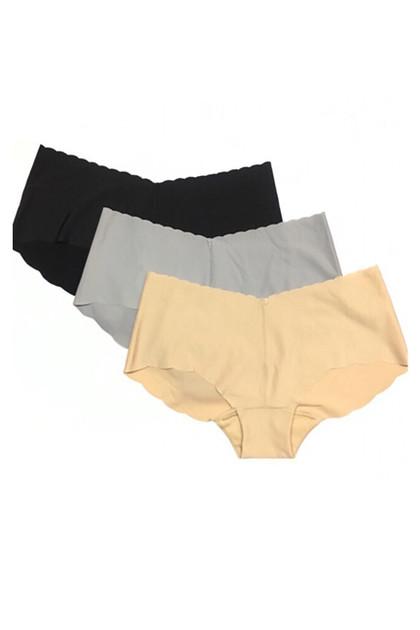 Scallop Seamless Lowrise Ultra Thin Panties