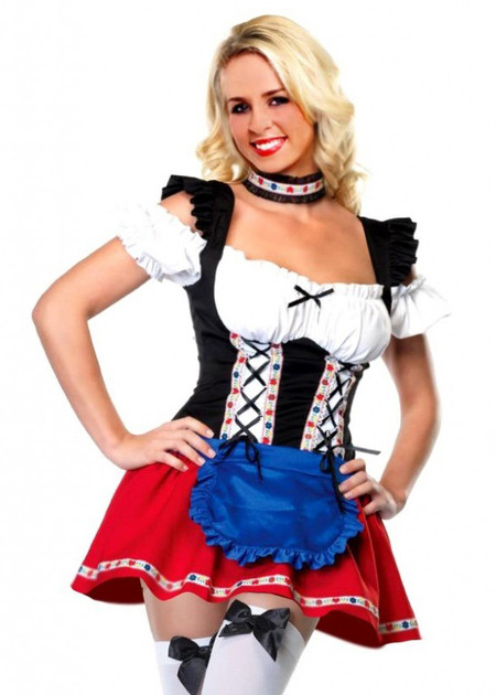 Daisy Sexy Beer Stein Babe Costume