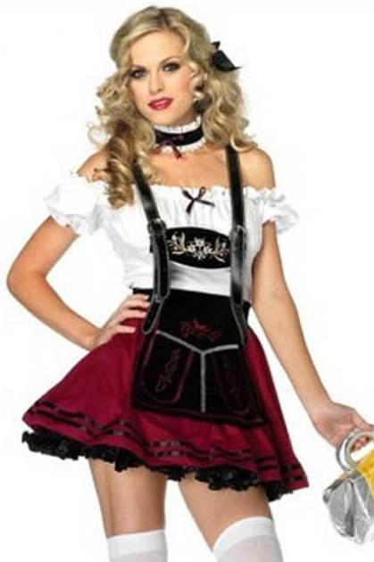 Deluxe Beer Maiden Halloween Costume