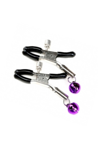 Nipple Clamps with Dangling Bells