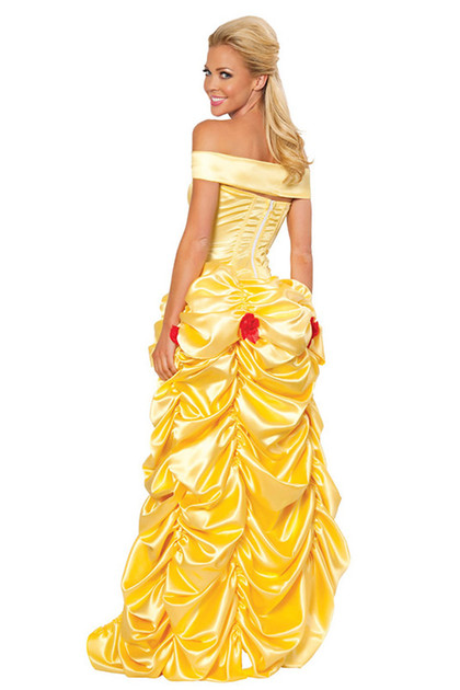 Belle Train Gown Costume