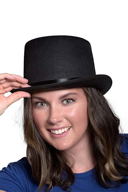 Classic Felt Top Hat Costume Accessory