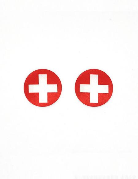 Nurse Red Cross Disposable  1 pair Nipple Pasties