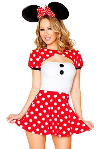 Fun & Flirty Minnie Red Polkadot Costume
