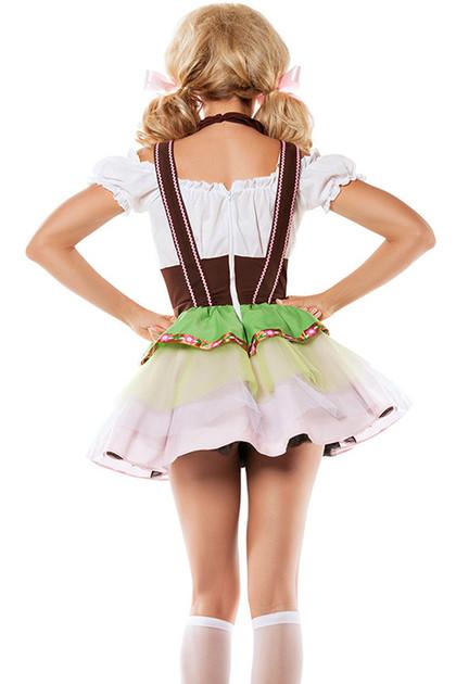 Bernadette Beer Maiden Costume XL