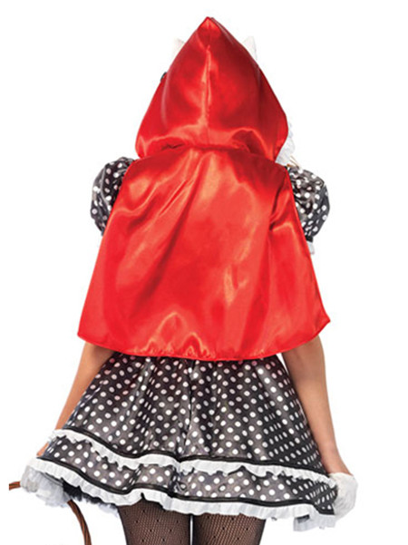 Hello Kitty Riding Hood Kawaii Costume