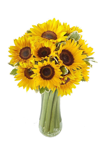 Sunflower Endless Summer Love Bouquet Vintage Blooms by Lucky Doll®