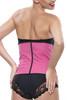 Pink Latex Steel Boned Waist Training Corset