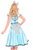 Deluxe Retro Pin-up Rockabilly Diner Waitress Costume