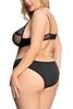 Eden Black Mesh Strappy Bra Panty Lingerie Set Plus Size