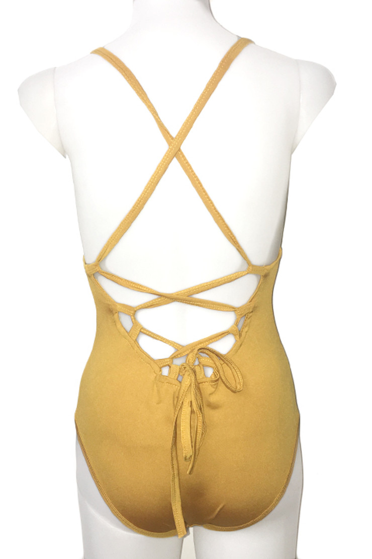 Ginger Multi way Srappy Back One Piece Swimsuit