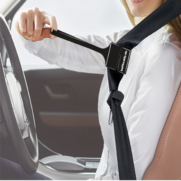 carbeltbuddy makes buckling easier