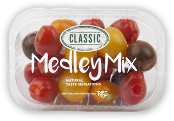 Tomatoes - Cherry Medley Mix - 180gm