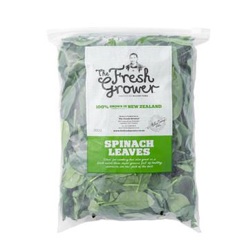 Loose Leaf Spinach 300gm Bag
