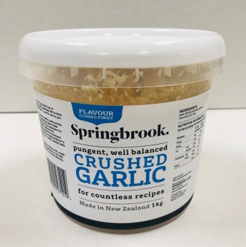 Crushed Garlic - 1kg Tub