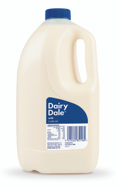 Milk - Dairy Dale Blue 2L
