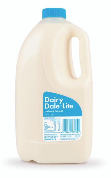 Milk - Dairy Dale Lite Blue 2L