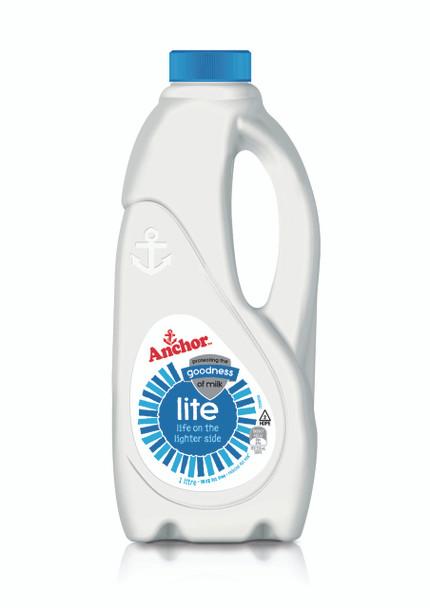 Milk - Anchor Lite Blue - 1Ltr