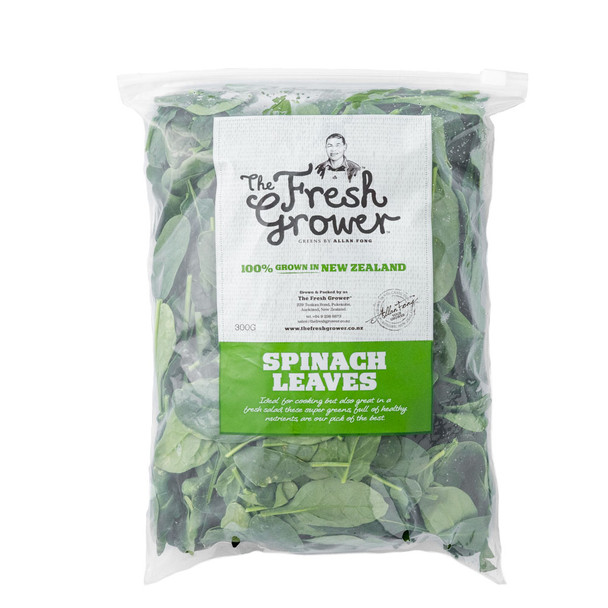 Loose Leaf Spinach 300gm Bag