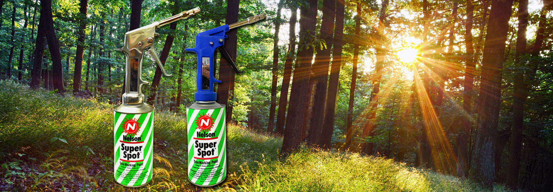 Our tree marking paint guns are the standard in the forestry industry.
