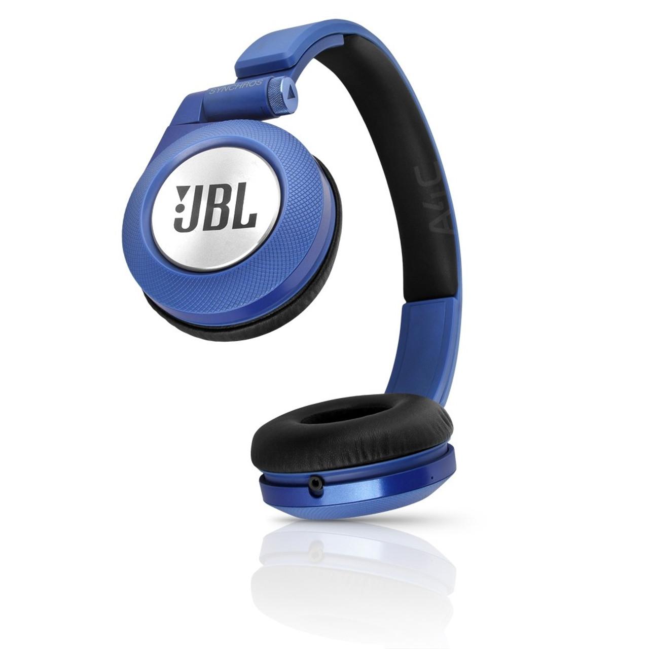Jbl Synchros E40bt On Ear Bluetooth Headphones Blue Esurebuy Com