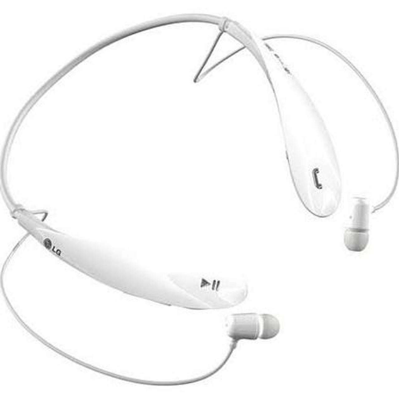 Lg Tone Ultra Hbs 800 White Bluetooth Stereo Headset Esurebuy Com