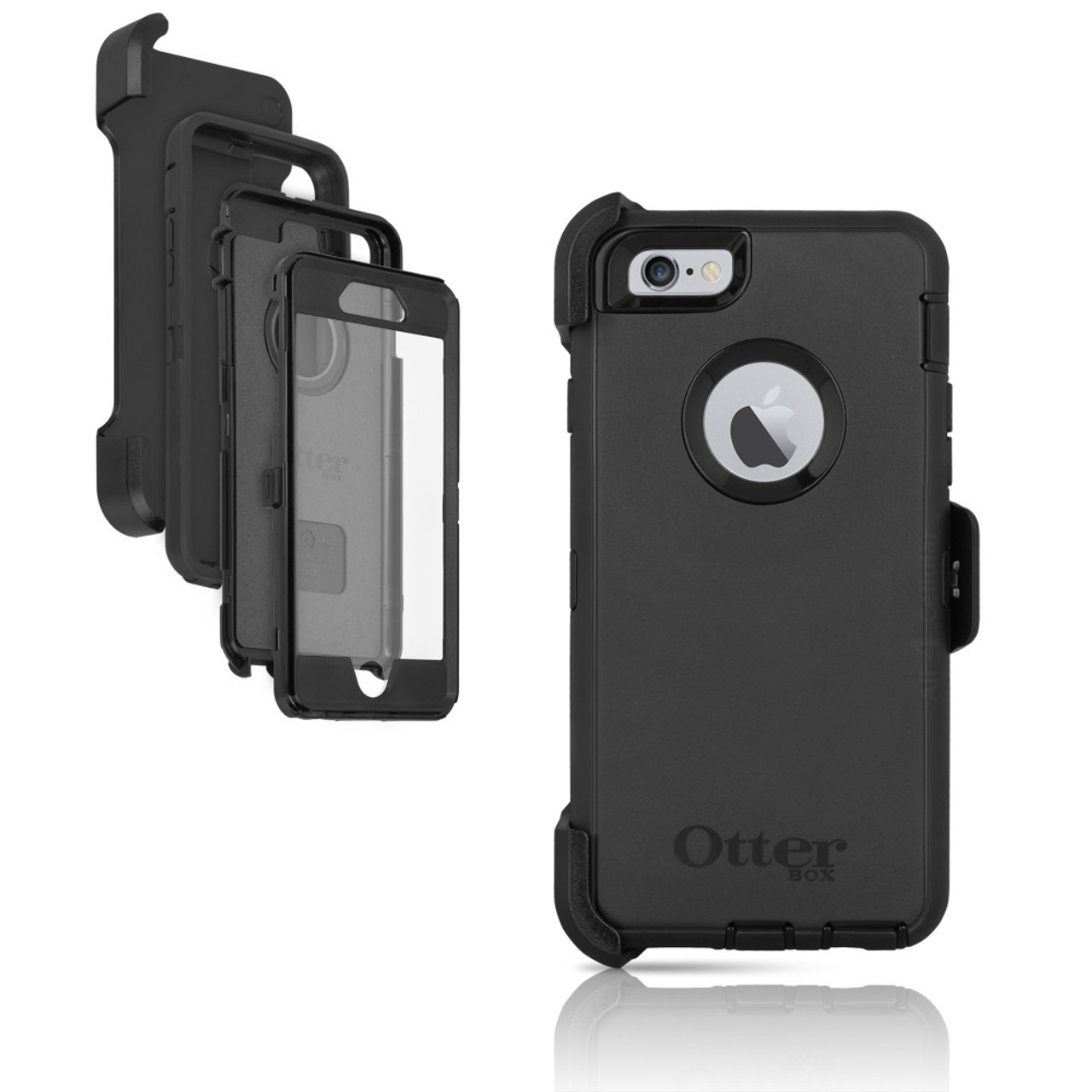 6d155518f113 OtterBox iPhone 6 6s Defender Series Case   Holster - eSureBuy.com