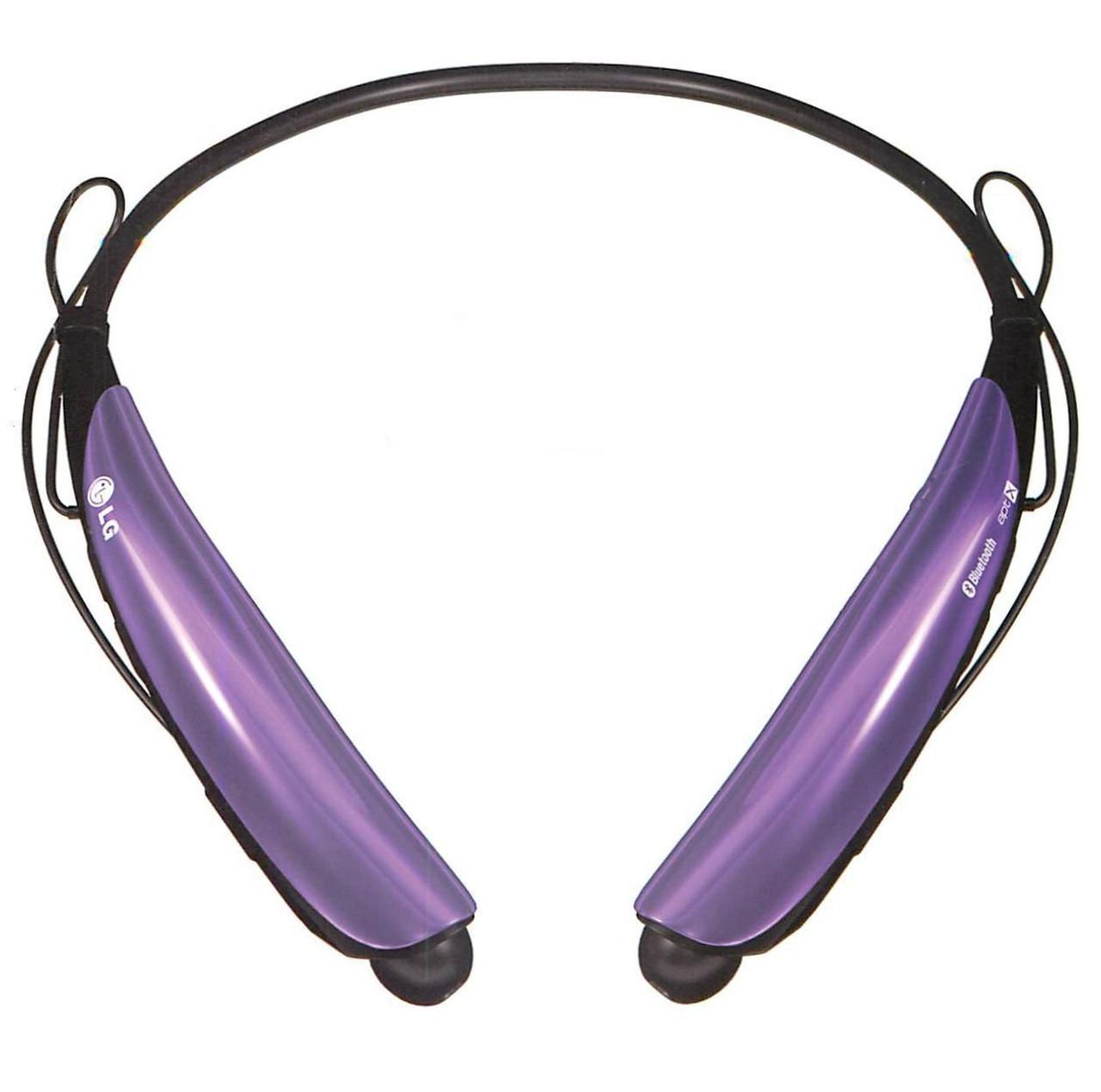 7fd8b00f53b LG Tone Pro HBS-750 Purple Bluetooth Stereo Headset - eSureBuy.com