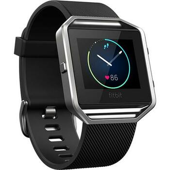 Fitbit Blaze Smart Fitness Watch, Large, Black