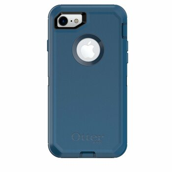 OtterBox iPhone 7/8 Defender Series Case & Holster (Blue)
