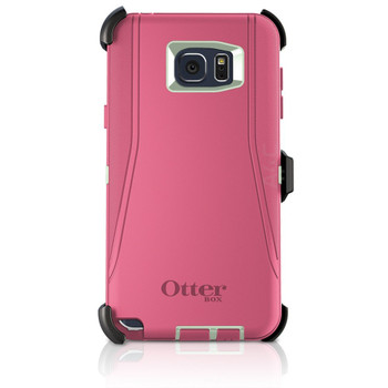 OtterBox Samsung Galaxy Note5 Defender Series Case & Holster Pink