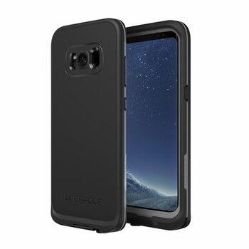 LifeProof - Fre Protective Water-resistant Case Samsung Galaxy S8+ - Asphalt black