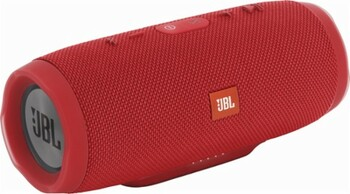 JBL Charge 3 Portable Waterproof Bluetooth Speaker - Red