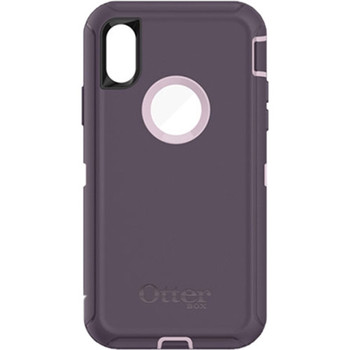 OtterBox Defender Case for iPhone X (Purple Nebula)