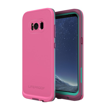 LifeProof - Fre Protective Water-resistant Case Samsung Galaxy S8+ - Twilights edge purple