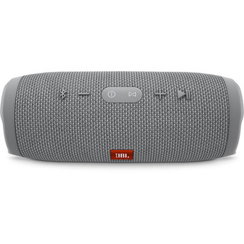 JBL Charge 3 Portable Bluetooth Stereo Speaker (Gray)