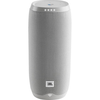 JBL LINK 20 Smart Portable Bluetooth Speaker Google Assistant -White