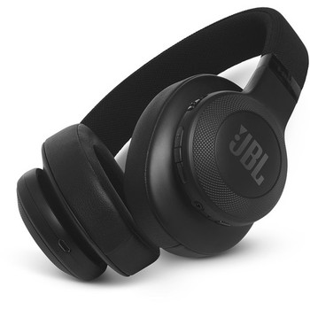 JBL E55BT Bluetooth Over-Ear Headphones (Black)